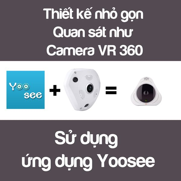 camera ip vr yoosee sieu nho 360 do hd 960p mini quan sat moi goc nhin 3